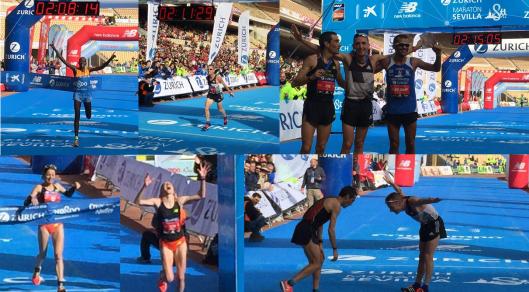 Ganadores Maratón de Sevilla