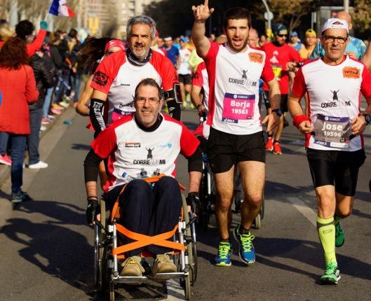Maratón de Barcelona Foto: JJ Vico