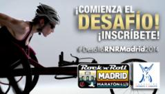 Gran campaña del Maratón de Madrid. 2014